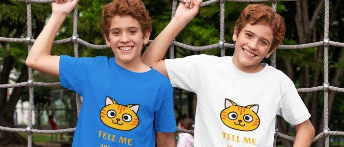 Tell Me About It Funny Cat Purr Apparel Tshirt