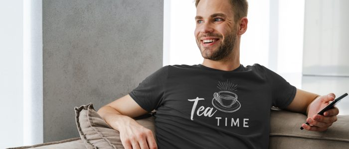 Tea Time T-shirt tea lover